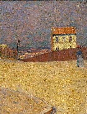 Federico Zandomeneghi: Kleines Haus in Montmartre