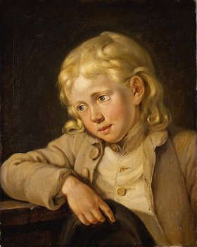 Georg Melchior Kraus: Knabenbildnis