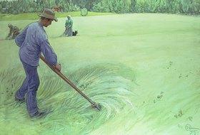 Carl Larsson: Bei der Ernte