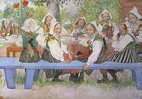 Carl Larsson: Kerstis Geburtstag