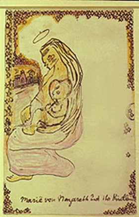 Else Lasker-Schüler: Maria von Nazareth und ihr Kindlein