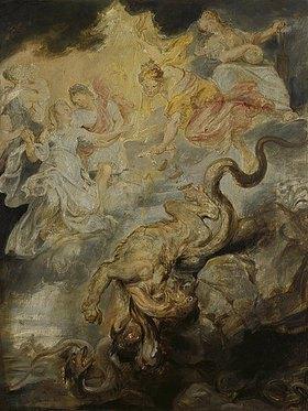Peter Paul Rubens: Medici-Zyklus. Die Versöhnung (15. Dezember 1621). (Skizze)