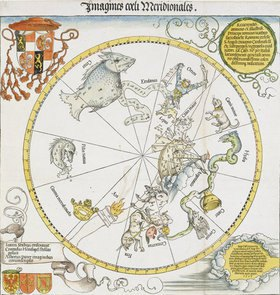 Albrecht Dürer: Karte des südl.Sternhimmels