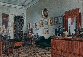 Ludwig (Louis) Premazzi: Das Büro von Mikhail Obreskoff