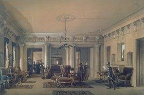 Ludwig (Louis) Premazzi: Der Warteraum der St.Petersburger Poststation