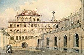 Karl Rabus: Das Gefängnisgebäude des Zaren Alexej Mikhailowitsch