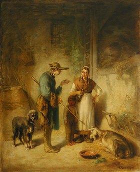 Anton Burger: Die kranke Ziege