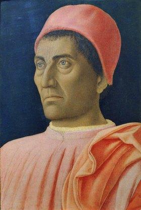 Andrea Mantegna: Kardinal Carlo Medici, Bildnis