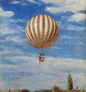 Pál Szinyei-Merse: Der Luftballon
