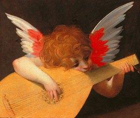Rosso Fiorentino (Giovanni-B. di Jacopo): Musizierender Engel