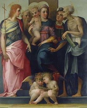 Rosso Fiorentino (Giovanni-Battista di Jacopo): Madonna mit Kind und Heiligen