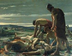 Alcide Segoni: Die Auffindung des Leichnams von Catilina
