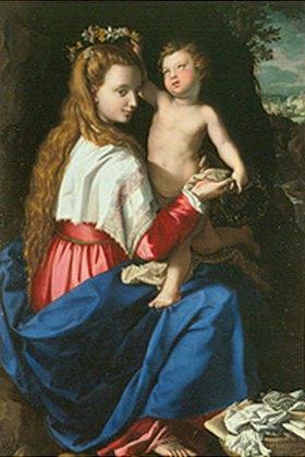 Alessandro (Bronzino) Allori: Madonna mit Kind
