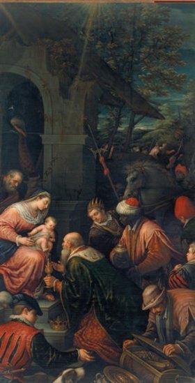 Bassano (Francesco da Ponte): Die Anbetung der Könige