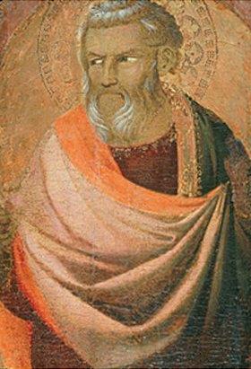 Taddeo Gaddi: Bildnis eines Evangelisten