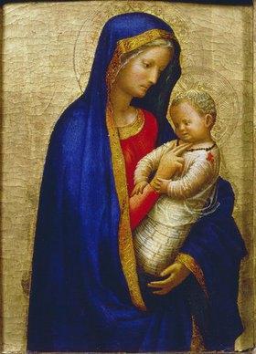 Masaccio: Die Madonna des Kardinals Casini (Die Madonna kitzelt das Jesuskind)