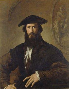 Parmigianino (Francesco Mazzola): Bildnis eines bärtigen Mannes