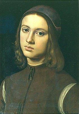 Perugino (Pietro Vanucci): Bildnis eines Jungen