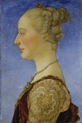 Antonio del Pollaiuolo: Bildnis einer Frau