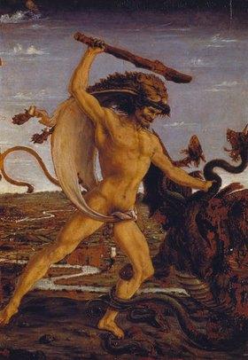 Antonio del Pollaiuolo: Herkules und die Hydra