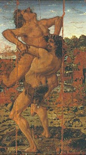 Antonio del Pollaiuolo: Herkules und Antaeus