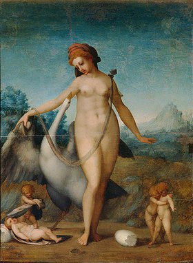 Jacopo Carucci da Pontormo: Leda und der Schwan