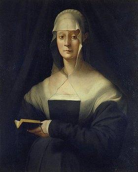 Jacopo Carucci da Pontormo: Bildnis der Maria Salviati