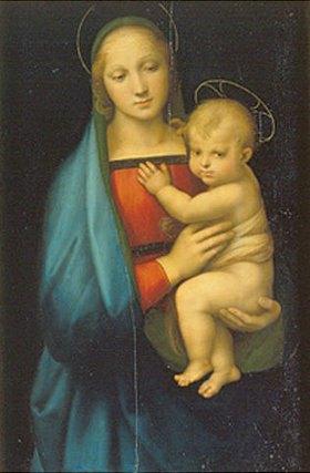 Raffael (Raffaello Sanzio): Die Madonna des Grossherzogs