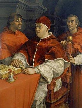 Raffael (Raffaello Sanzio): Bildnis von Papst Leo X