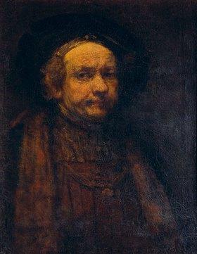 Rembrandt van Rijn: Altersbildnis
