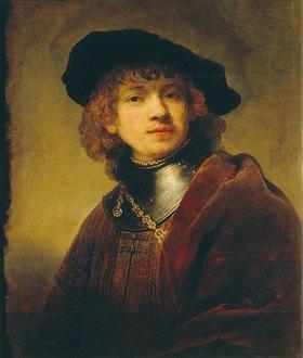 Rembrandt van Rijn: Selbstbildnis