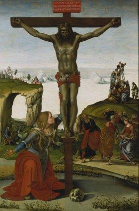 Luca Signorelli: Die Hl. Magdalena unter dem Kreuz