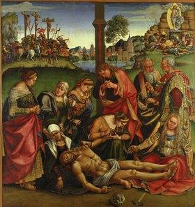 Luca Signorelli: Die Beweinung Christi