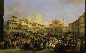 Giovanni Signorini: Karneval in Florenz