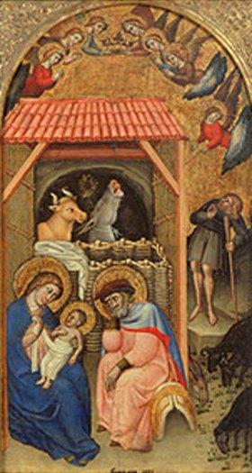 Simone dei Crocifissi: Christi Geburt