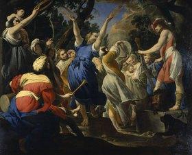 Giovan Battista Spinelli: David feiert ein Fest mit den Hebräern