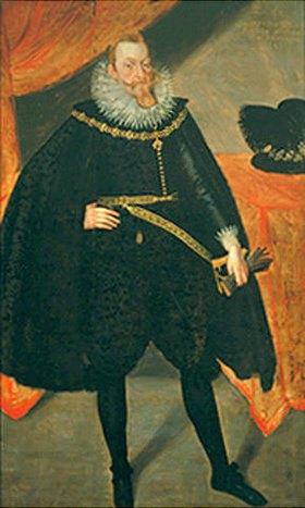 Ende 16. Jahrhundert Deutsch: Bildnis Sigismund Vasa, König von Polen (1566-1632)