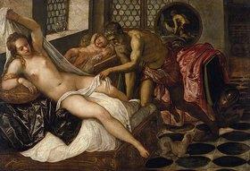 Tintoretto (Jacopo Robusti): Vulkan überrascht Venus und Mars