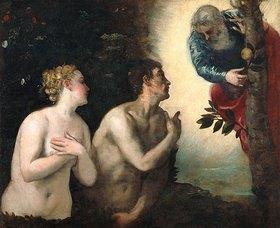 Tintoretto (Jacopo Robusti): Der Sündenfall