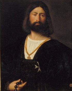 Tizian (Tiziano Vecellio): Bildnis eines Malteserritters
