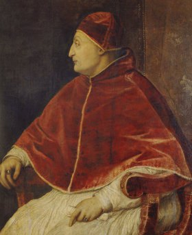 Tizian (Tiziano Vecellio): Bildnis des Papstes Sixtus IV