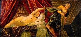 Tintoretto (Jacopo Robusti): Joseph und das Weib des Potiphar