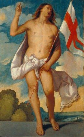 Tizian (Tiziano Vecellio): Der auferstandene Christus