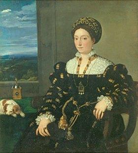 Tizian (Tiziano Vecellio): Bildnis der Eleonora Gonzaga
