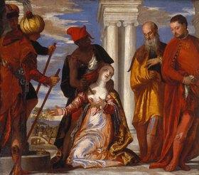 Paolo (Paolo Caliari) Veronese: Das Martyrium der Hl. Justina