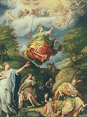 Jacopo Zucchi: Das Silberne Zeitalter