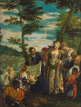 Paolo (Paolo Caliari) Veronese: Die Auffindung des Mosesknaben