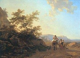 Nicolaes Berchem: Italienische Landschaft