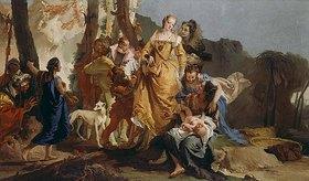 Giovanni Battista Tiepolo: Die Auffindung des Mosesknaben