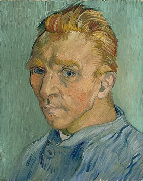 Vincent van Gogh: Selbstbildnis (ohne Bart)